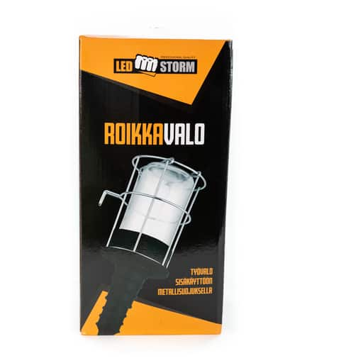 LED STORM ROIKKAVALO E27 MAX 60W