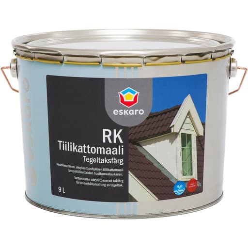 ESKARO RK TIILIKATTOMAALI SÄVYTETTÄVÄ 9L