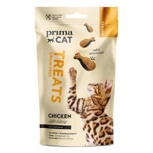 PRIMACAT TREATS SOFTY KANA JA KISSANMINTTU 50G