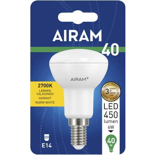 AIRAM LED 40 KOHDE R50 E14 2700K
