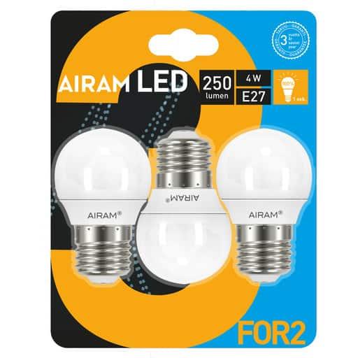 AIRAM 3FOR2 LED KORISTE 4W E27 2700K