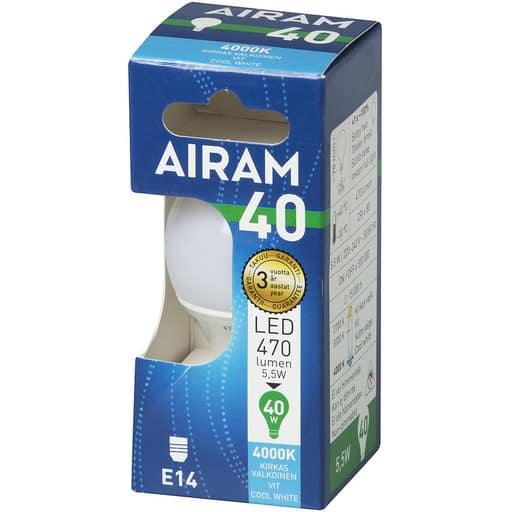 AIRAM LED 40 MAINOS E14 4000K