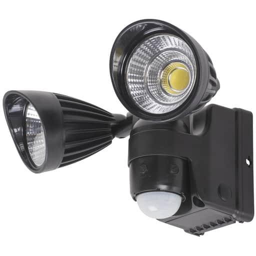 AIRAM GARAGE PIR LED-VALAISIN 2x3W COB| Säästötalo Latvala