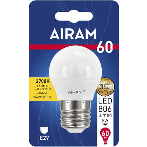 AIRAM LED 60 KORISTE E27 2700K