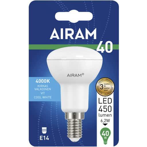 AIRAM LED 40 KOHDE R50 E14 4000K
