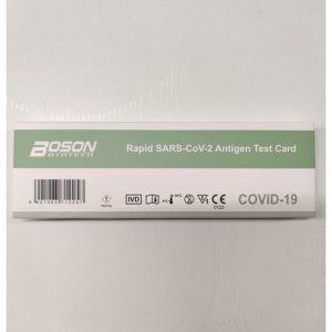 BOSON SARS-CoV-2 ANTIGEENITESTI 1KPL| Säästötalo Latvala