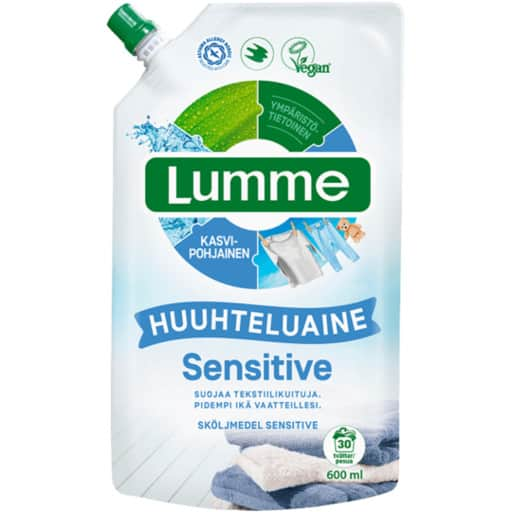 LUMME HUUHTELUAINE SENSITIVE 600ML