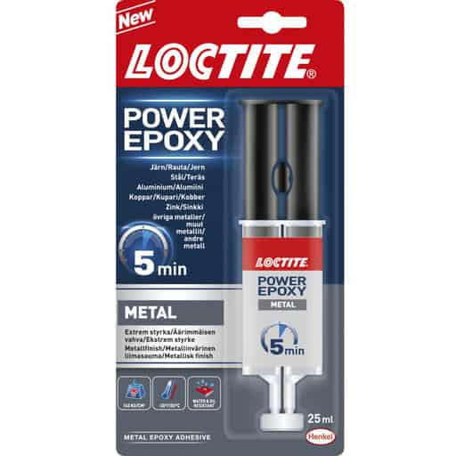 LOCTITE EPOKSILIIMA POWER EPOXY METAL 25ML