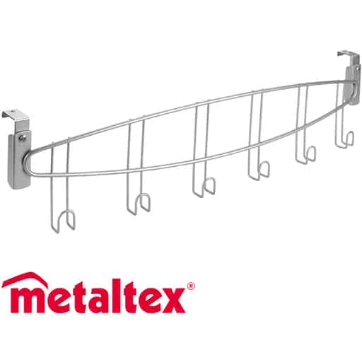 METALTEX OVIKOUKKU 6-KOUKKUA 55x4x11CM