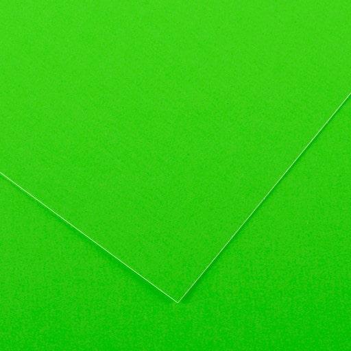 VÄRIKARTONKI FLUO GREEN 240G 50x65CM