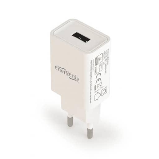 ENERGENIE LATURI USB CHARGER 2.1A VALKOINEN